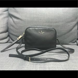 Kate Spade Mindy Grey Street Crossbody Bag